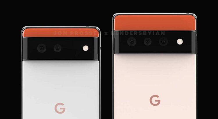 Google Pixel 6 and 6 pro leak begin today