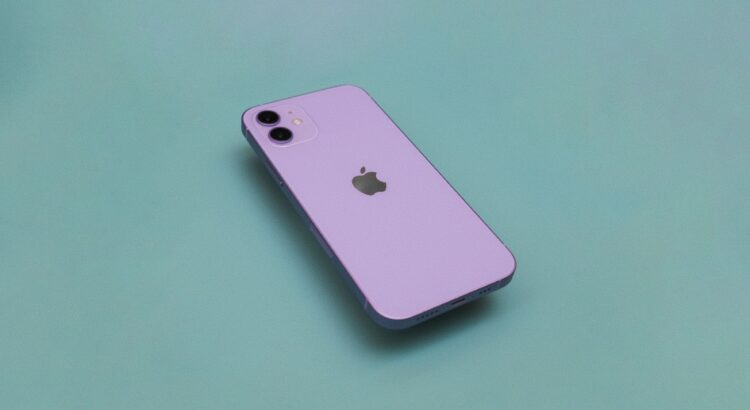 Iphone 12 beautiful purple and frustrated