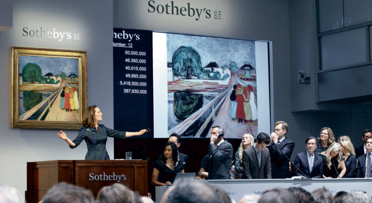 Sotheby's first NFT auction is revealed