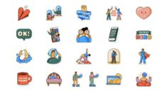 WhatsApp releases a set of six wrap stickers